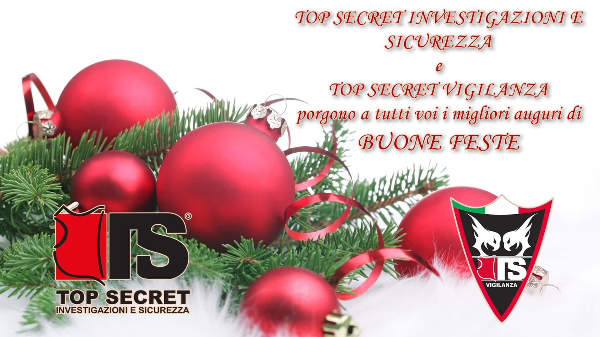 Auguri Professionali Di Natale.Auguri Natale Top Secret Topsecret Investigazioni E Sicurezza